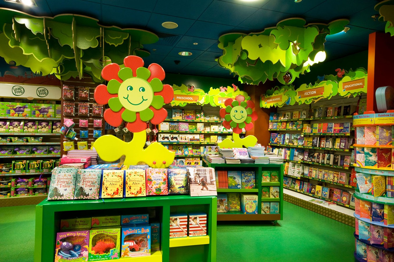 Hamleys Toy Store Mccue Crafted Fit Bespoke Interior Solutions