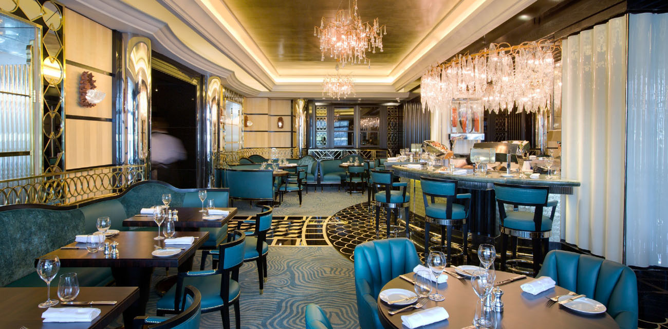 Kaspar's Seafood Bar and Grill – The Savoy Hotel